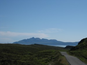 Elgol on a clear day