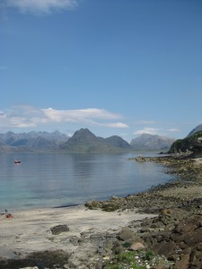 Elgol from the Harbour