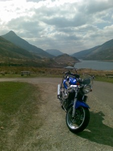 My Suzuki and Loch Leven