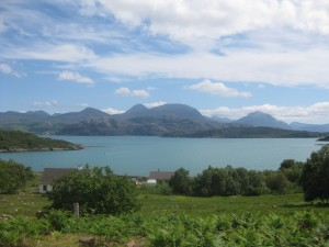 On the way to Shieldaig