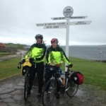 Gayle & Louise at their journeys end.